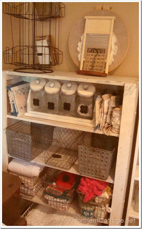 craft storage@northern cottage
