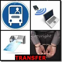 TRANSFER- 4 Pics 1 Word Answers 3 Letters