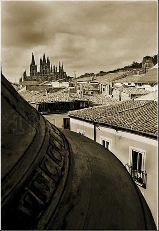 Catedral de Burgos desde el campanario de la Iglesia de San Lorenzo