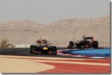 Vettel precede Raikkonen nel gran premio del Bahrain 2012