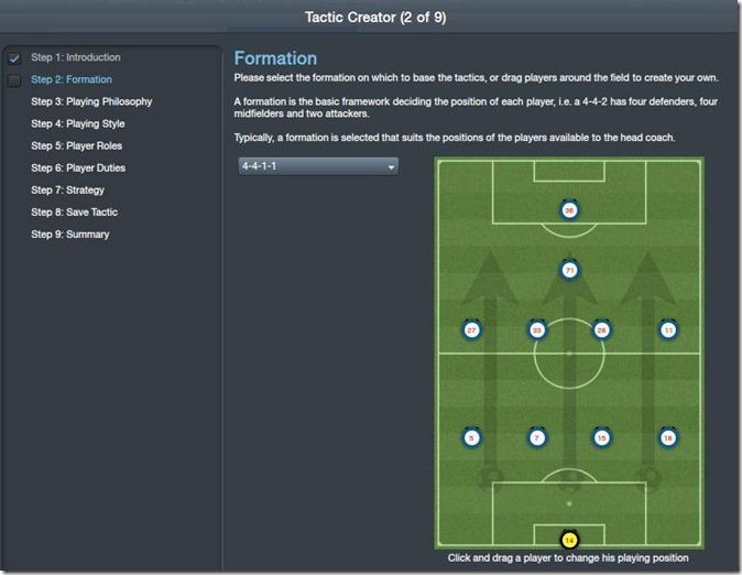 FM 2012 Tactics