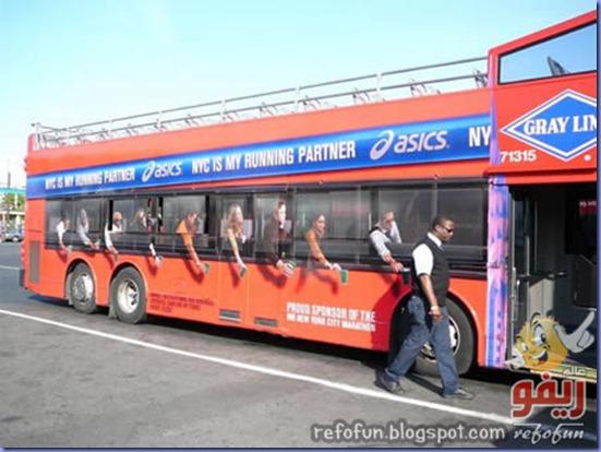 فن الاعلان على الحافلات عالم ريفو 13