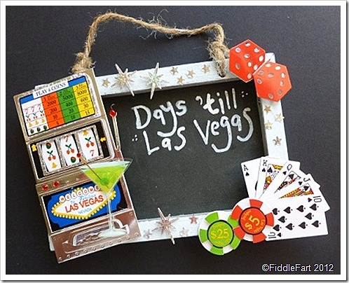 Las Vegas Countdown Board Crafts