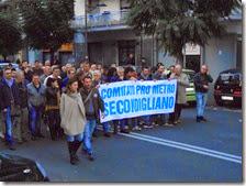 Manifestazione Secondigliano