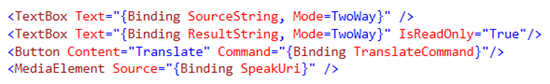 XAML Code