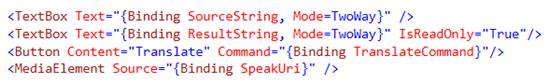 XAML Code