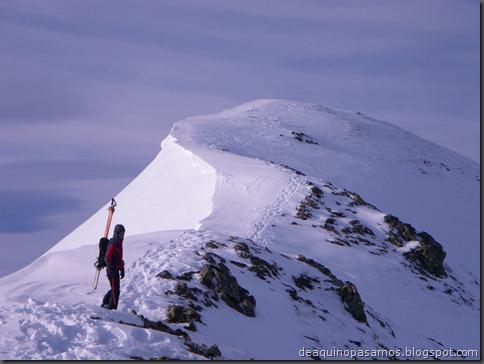 Pico de Canal Roya 2345m con esquis (Portalet, Pirineos) (Isra) 7324
