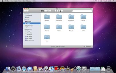 MacOS X (Asli)