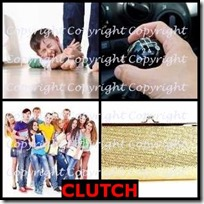 CLUTCH- 4 Pics 1 Word Answers 3 Letters