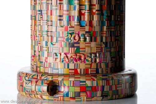 arte esculturas com skate reciclado desbaratinando  (15)