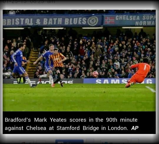 Kejutan terhebat di abad ni Chelsea dan Manchester City tumbang di tangan pasukan liga bawahan