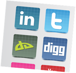Awesome 3D Social Icons