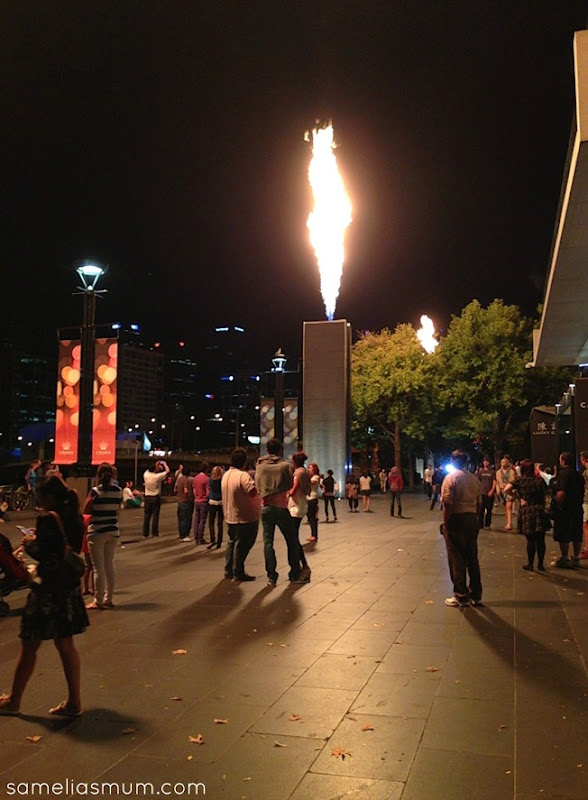 Melbourne SouthBank Flame