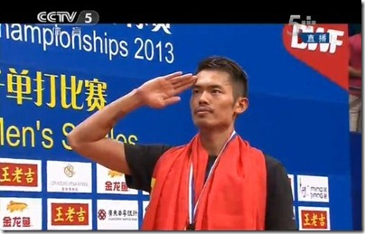 World Badminton Championship 2013 - Lin Dan in Final 07