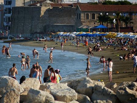 Imagini Cipru: Plaja Larnaca