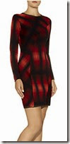 M Missoni Knitted Plaid Dress