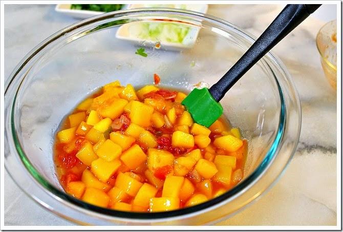 Quick & Easy Mango Salsa | I hope you enjoy this delicious recipe