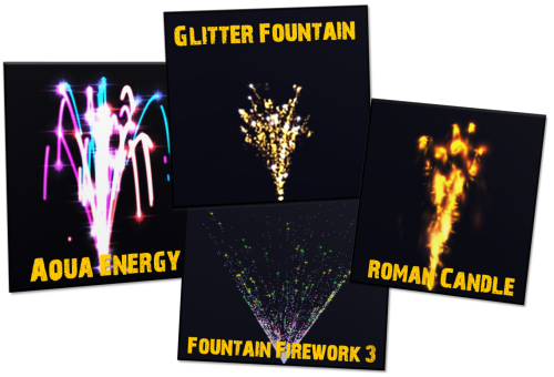 Particle Effects Pack (AzoRctMan) lassoares-rct3