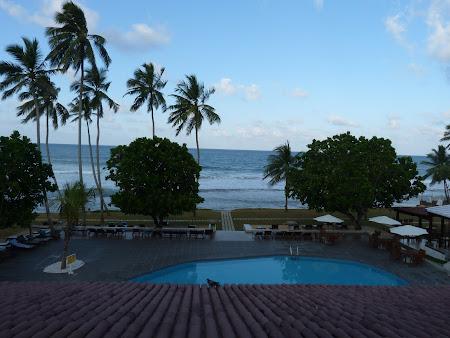 Hotel Citrus Hikkaduwa: dimineata spre Oceanul Indian