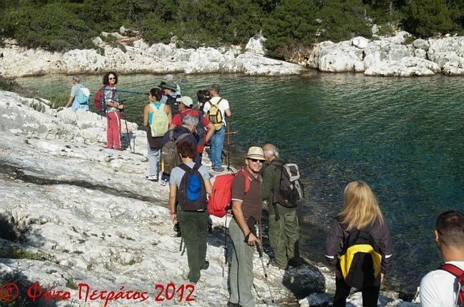 Με μεγάλη συμμετοχή έγινε η εκδρομή στις παραλίες της Ερίσου από τον Ορειβατικό Σύλλογο (φωτογραφίες)