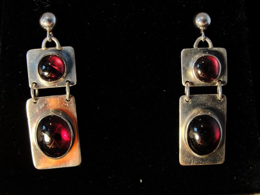 Garnet Hangers......Sold