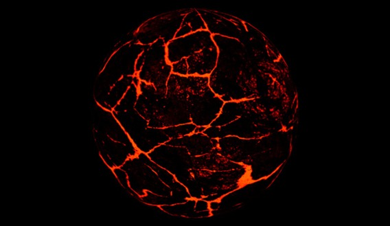 3d tuts  Create a lava ball in Maya 2014