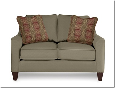 Lazboy Talbot loveseat_451 in B 108026 P1 H 114288 021 legs Traditional