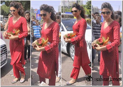 Pics For > Deepika Padukone In Salwar Suit In Yeh Jawani ...