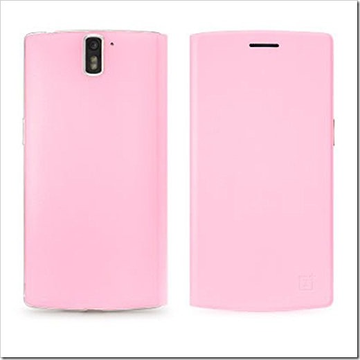 OnePlus Flip Cover Pink