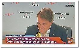 Catalunha. Referendo ou plebiscito nas eleições.Set. 2013