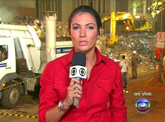 """Patricia Poeta do """"Jornal Nacional"""" - Foto: Reprodução/TV Globo"""