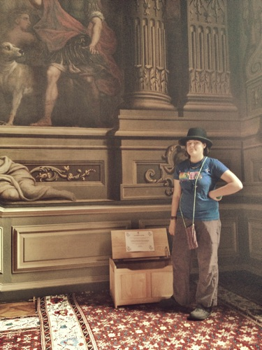 Dress Up box Bowler Hat, Art Inspiration at Petworth House , West Sussex , Victorian Era Aestetics