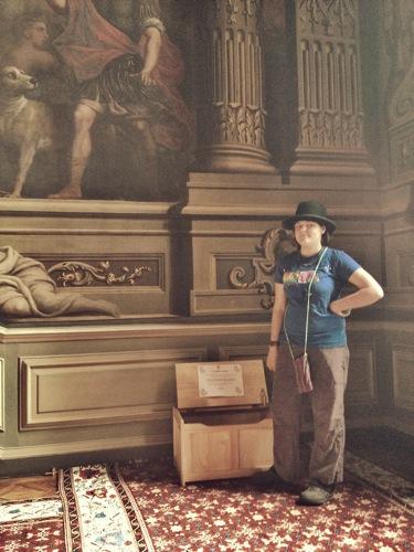 Dress Up box Bowler Hat, Art Inspiration at Petworth House , West Sussex , Victorian Era Aestetics