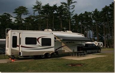 campsite - Winton Woods