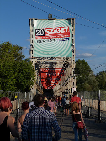 Imagini Ungaria: intrare Sziget