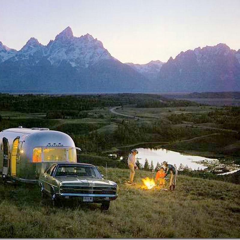 Glamping–Trailer Style