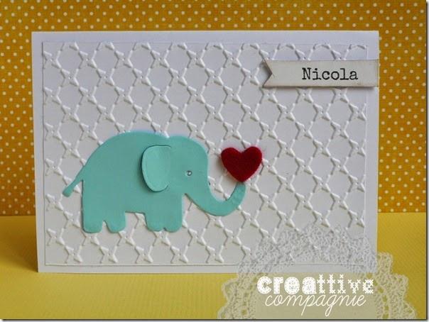 creattive compagnie - inviti - biglietti - portafoto - nascita battesimo - elefantino (1)