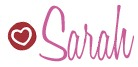 Sarah signature copy bigger size