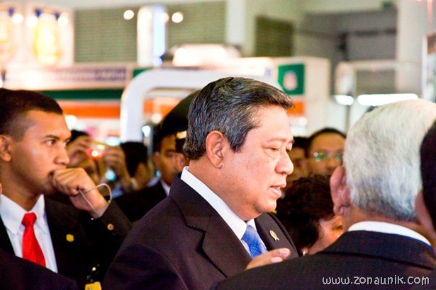 foto keseharian Presiden Indonesia Susilo Bambang Yudhoyono (43)