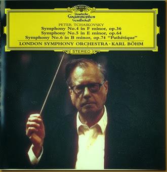 BohmTchaikovsky  sinfonias DG