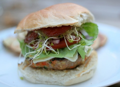 turkey veggie burgers 1