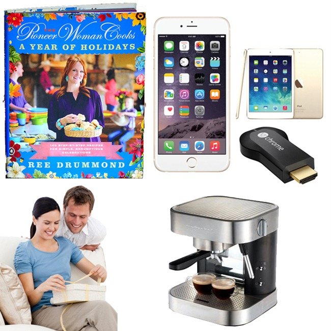 Books and Latest Gadgets Christmas Gifts for Her