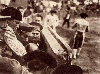 1934-08-11 (p. 19 Cronica) Despues de la cogida
