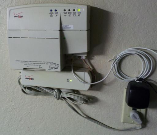 Verizon home phone box model dbbu-1238.
