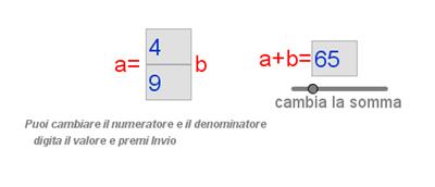 somma e rapporto fra segmenti