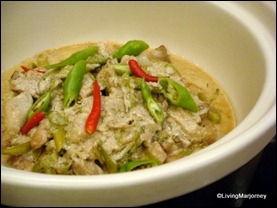 Marriott Café: Bicol Express