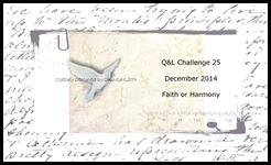 Q&L Chall 52 bk Faith Harmony