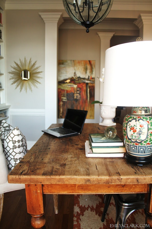 home office farmhouse table