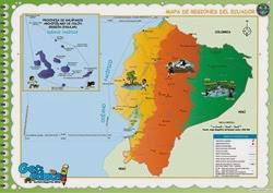 111 - Mapa Regiones del Ecuador