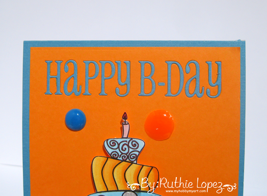 Garabattas - Birthday Ca - Happy Birthday Card - Ruthie Lopez - My hobby my art 3